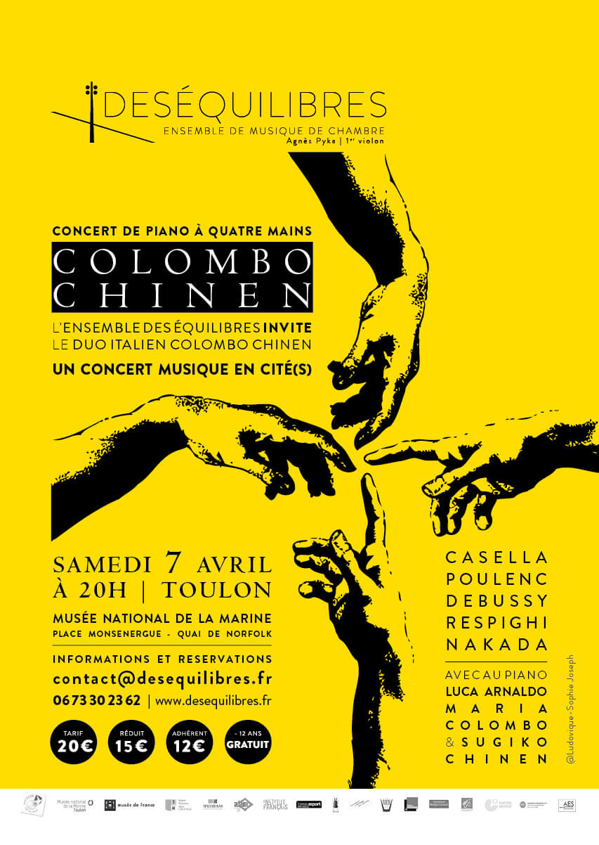 colombo, chinen, Toulon, ensemble, des équilibres